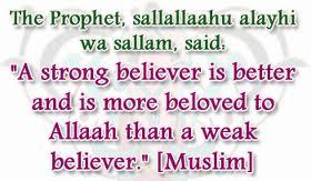 strong-believer-weak-believer-telugu-islam