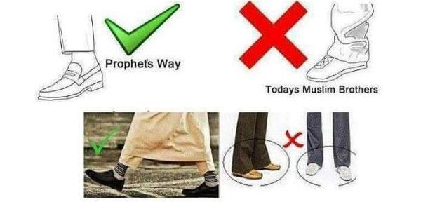 దుస్తులు చీలమండలం క్రిందికి ఉంచుట men wearing below ankles
