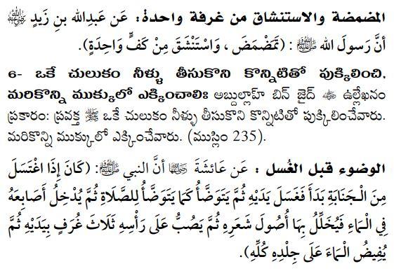 వుజూ సాంప్రదాయాలు
